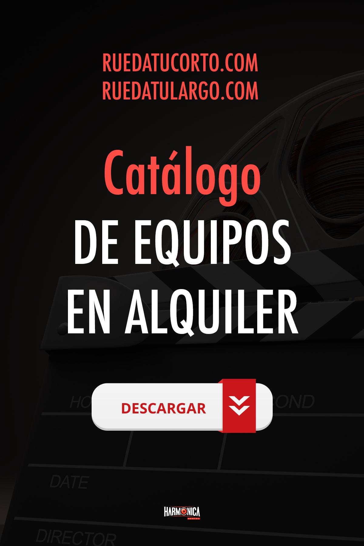 ALQUILER DE EQUIPOS PARA CORTOS Y LARGOS INDEPENDIENTES